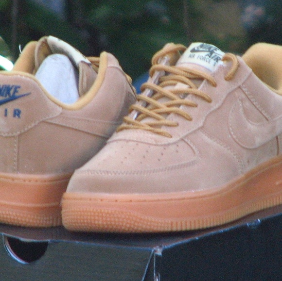 meet 69309 84a77 Nike Air Force 1 One Low GS Winter Premium Wheat F.  M 5acb0b8050687cddc82545d0. Other Shoes ...